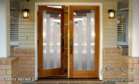 Impressions that PAY with Glass Front Doors - Sans Soucie