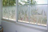 Etched Glass Windows - Sans Soucie Art Glass