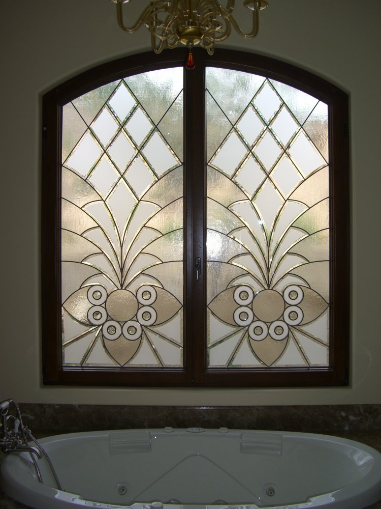 Etched Glass Windows