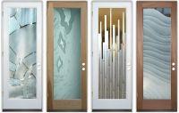 Interior All Glass Doors - Sans Soucie Art Glass