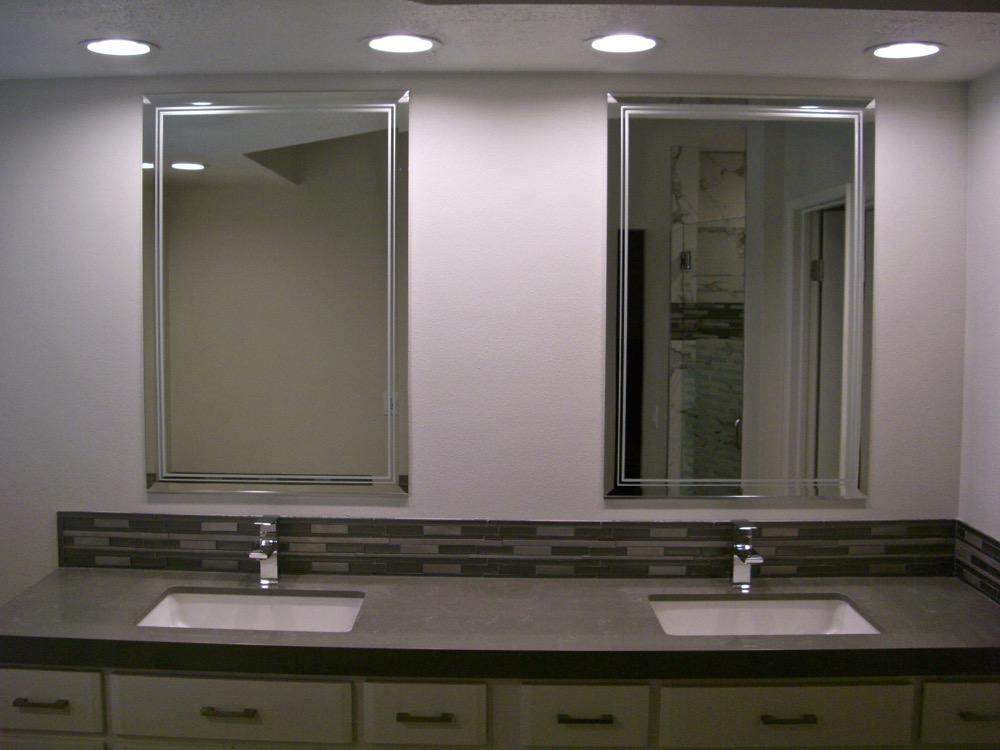 Ultra Border 1D Positive Decorative Mirrors Sans Soucie