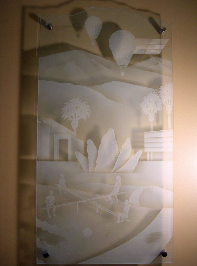 Glass Wall Art  Wall Placques  Contemporary Wall Art