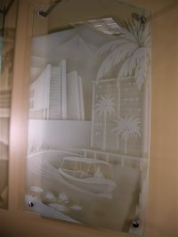 Glass Wall Art / Wall Placques / Contemporary Wall Art ...