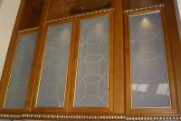 Etched Glass Cabinet Door Inserts   Cabinets Matttroy
