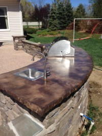 Diy Concrete Countertops Outdoor Kitchen - Do It Your Self
