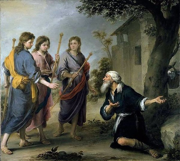 Three Angels Abraham