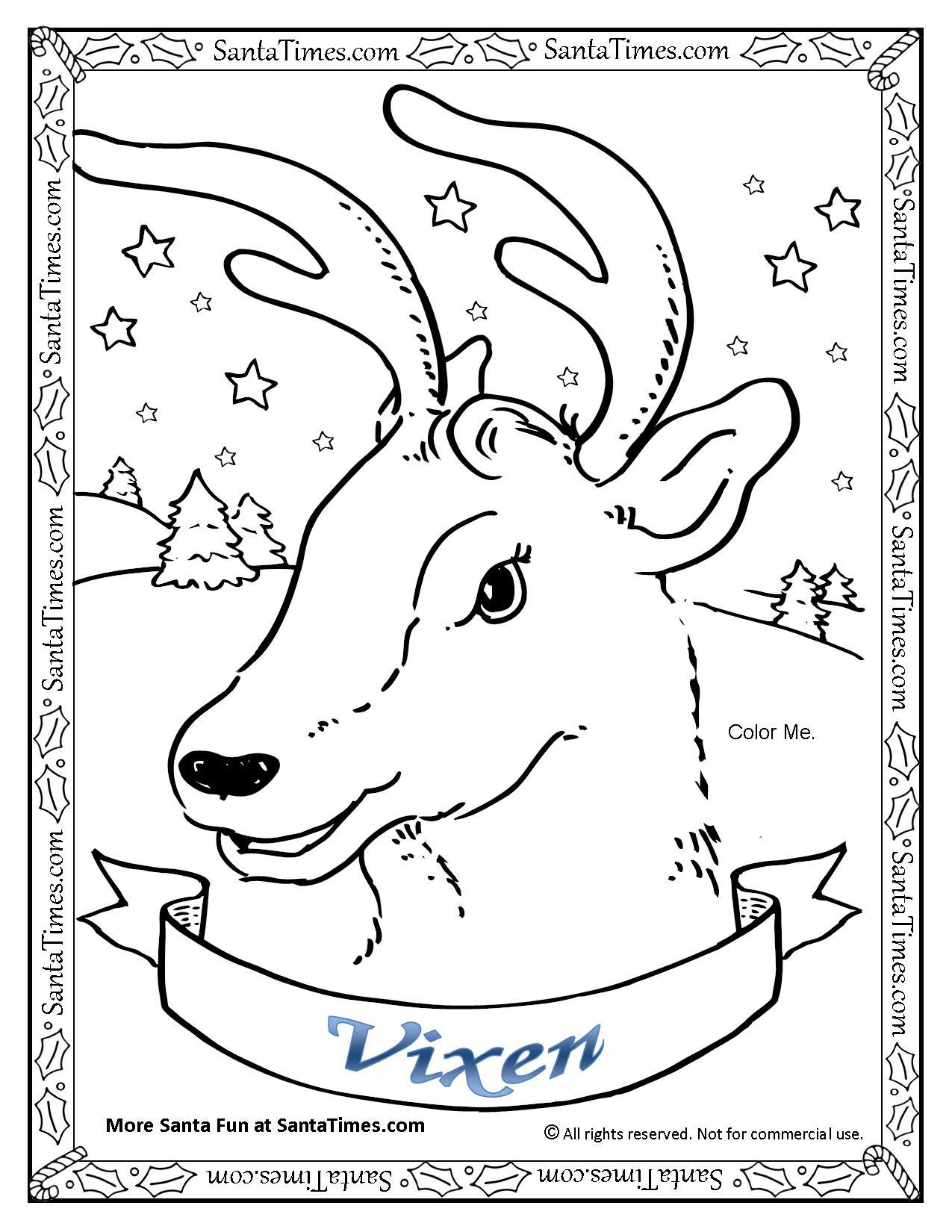 Vixen The Reindeer