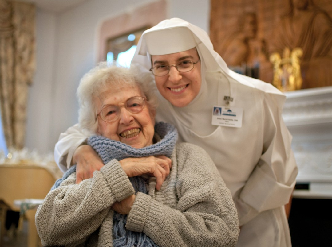 Nurse Sister with Resident