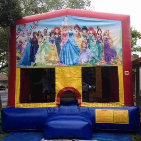 all princess jump house