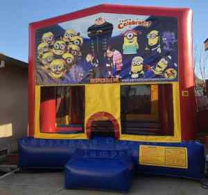despicable me jump house