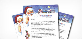 Santa Letters From North Pole Since 1952 Santa Claus House