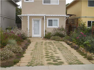 install permeable hardscapes