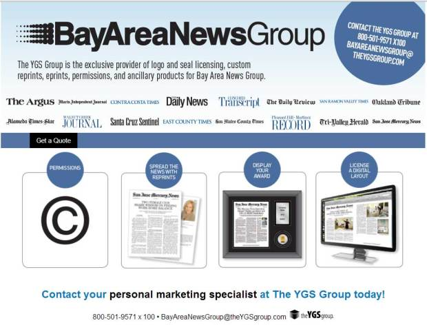 Reprints - Bay Area News Group