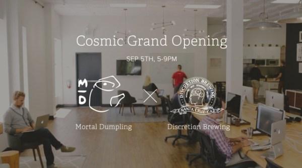 Cosmic opens new design studio in downtown Santa Cruz