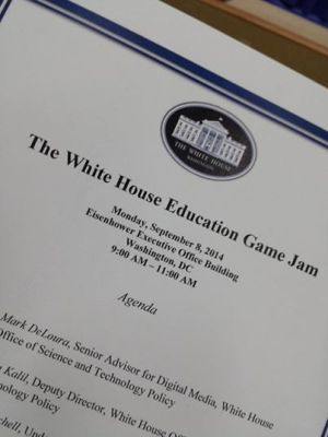 Santa Cruz represents at White House Game Jam!