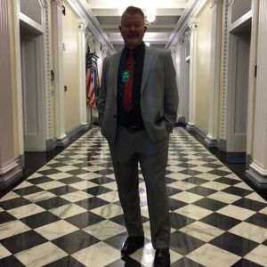 Spencer Lindsay visits the White House while back in D. C. for White House Game Jam.