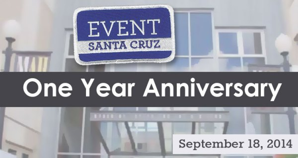 Event Santa Cruz celebrates one year anniversary on September 18
