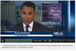 Watch: Mixing science and tech for Ebola vaccine