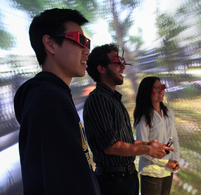 """""""CAVE Lab"""" Offers Immersive Virtual Reality Tools"""