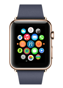 Numerous will hold onto its sleek appearance and critical information when used on the Apple Watch.