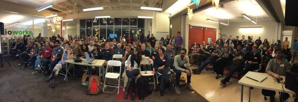 Full House at January SC New Tech Meetup