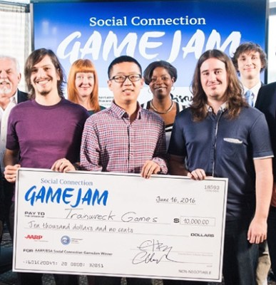 Trainwreck Games wins game design competition At E3
