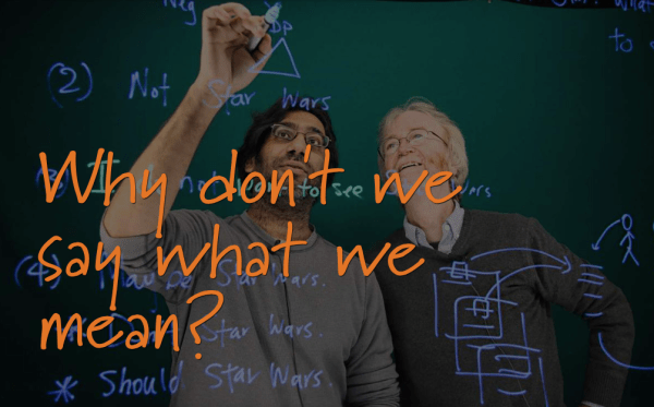 Hey, Siri, Let's talk! (Solving a nuanced engineering problem)