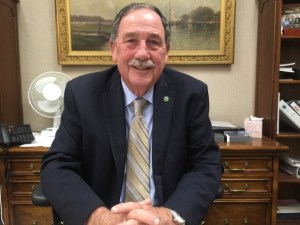 Salinas mayor Joe Gunter says gangs and meth have caused most of the city's major crime problems; Salinas is the youth homicide capital of California. (Credit: Kim Brunhuber)
