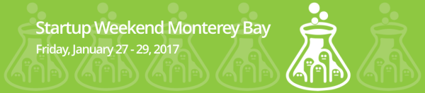 Startup Weekend Monterey Bay 2017 Registration Now Open