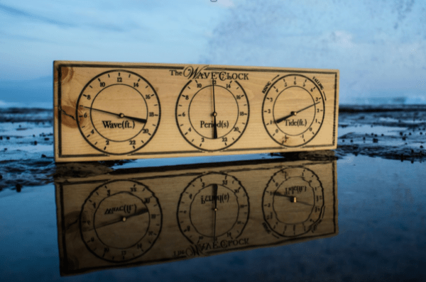 WaveClock: The ocean changes in real-time, is that how you're checking it?