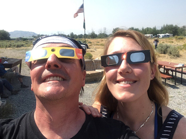 SciComm graduates spanned the country to cover the solar eclipse