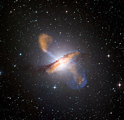 Supermassive black holes control star formation in large galaxies