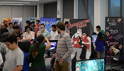Sammy Showcase features virtual reality and videogames from UCSC game design students