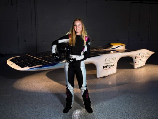 Salinas High grad aiming to break world speed record in solar-powered car