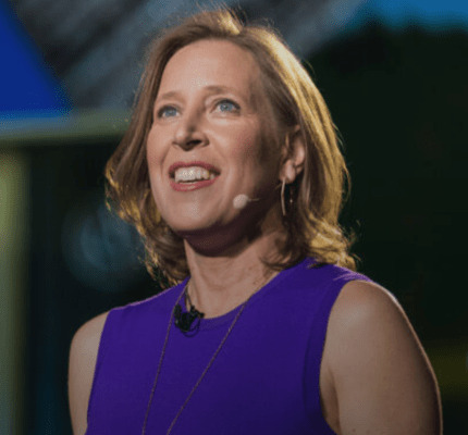 Susan Wojcicki, CEO of YouTube, UCSC alumna