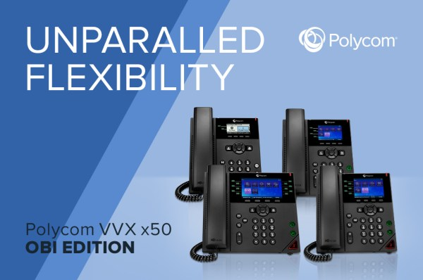 Poly announces VVX X50 Obi phones are first IP phones certified for Google Voice