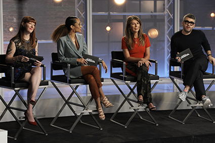So what was it like to appear on 'Project Runway' episode focused on female video game characters?