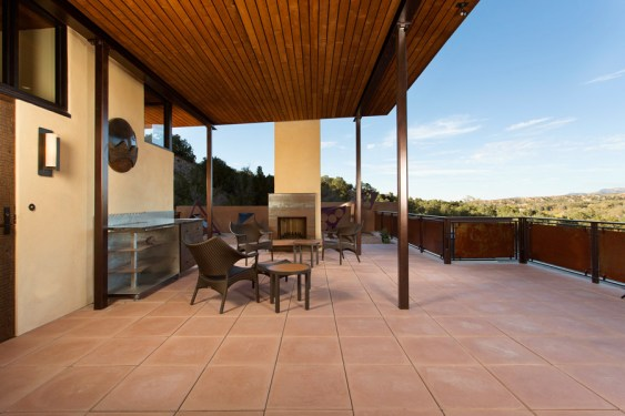 Net Zero House Patio