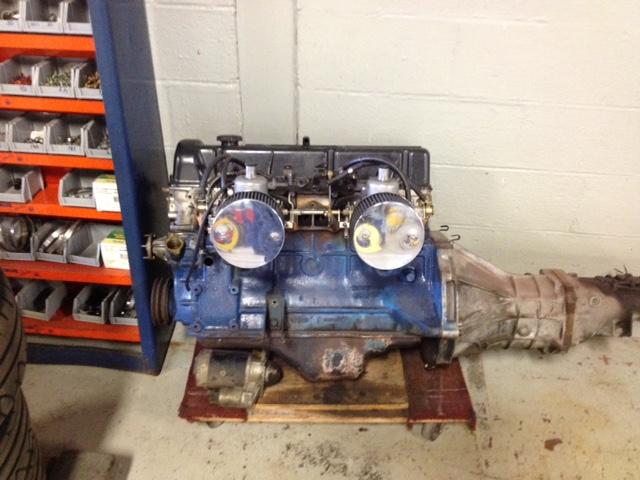 240z L28 Engine Project Santa Fe Garage