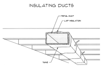 HVAC Plenums and Ducts in Unconditioned Space Insulated to ...