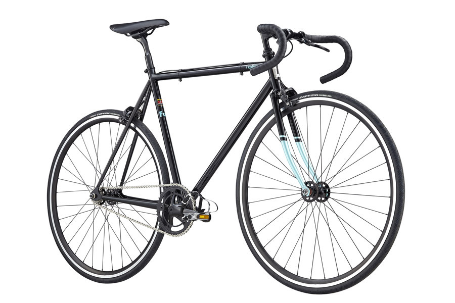 Fuji Bikes Feather Fixed Gear Bicycle 2020 in Black