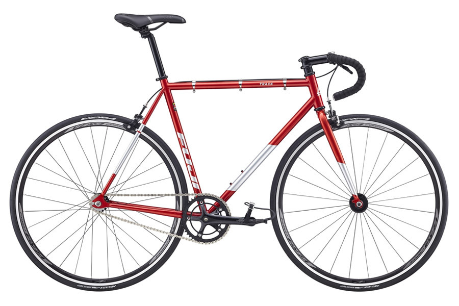 Fuji Bikes Track Single Speed Bicycle 2018 in Metallic Red