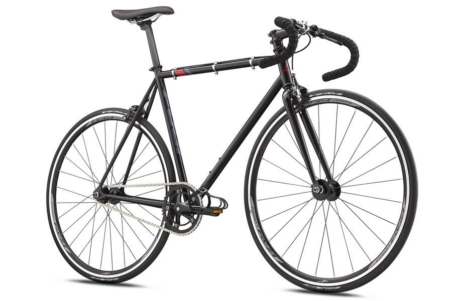 Buy Fuji Bikes Track Fixie Bike 2018 Black/Red