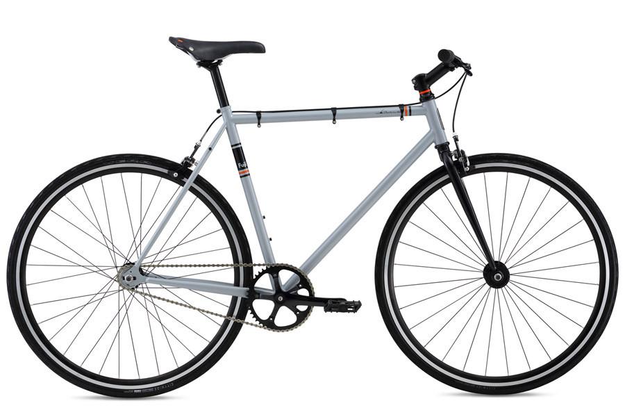 Buy Fuji Declaration Fixie Bike Silver
