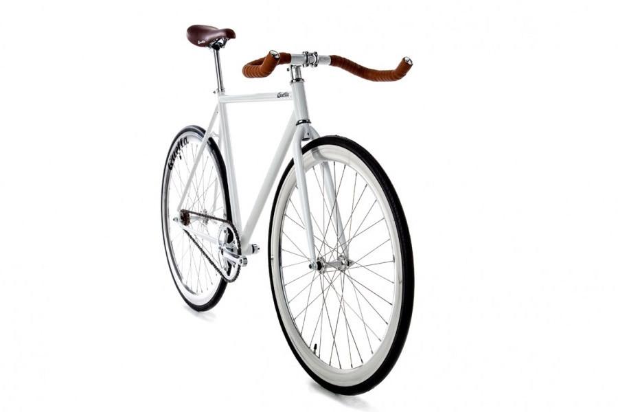 Acheter Quella One 2015 blanc. Vélo fixie single speed