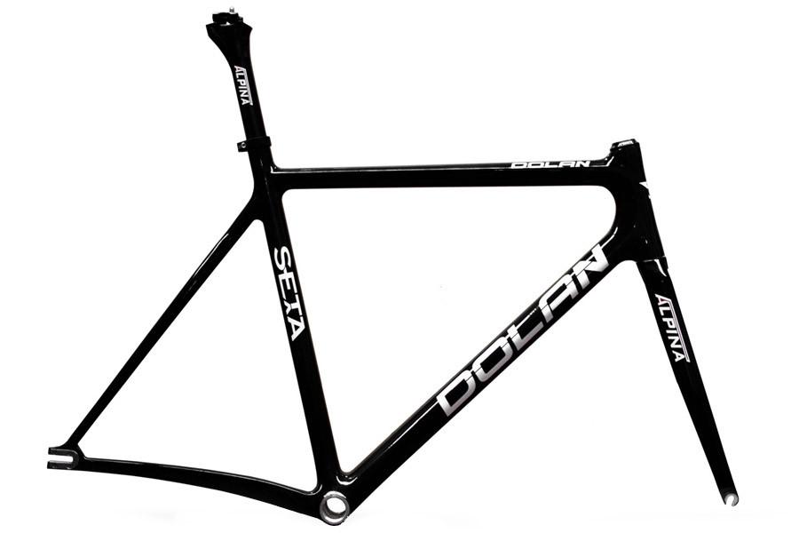 Santafixie. Cadre Dolan Seta Carbon pour vélo de piste