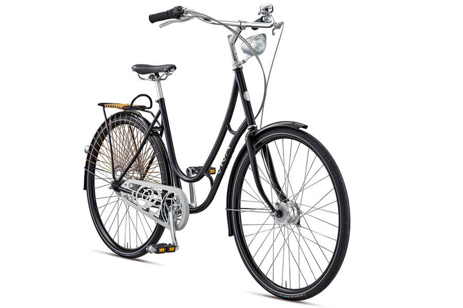 Vélo Promenade Viva Juliett Noir 3 Vitesses