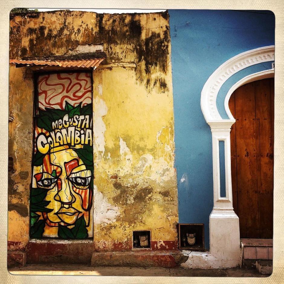 Me too, buddy. Me too. #colombia #cartagena #wallwisdom #message #40yearsinthewilderness