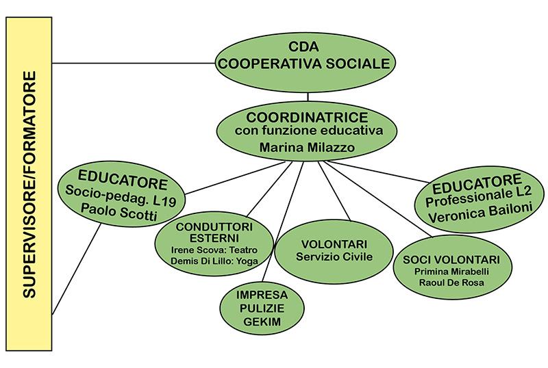Organigramma CSE Samarkand