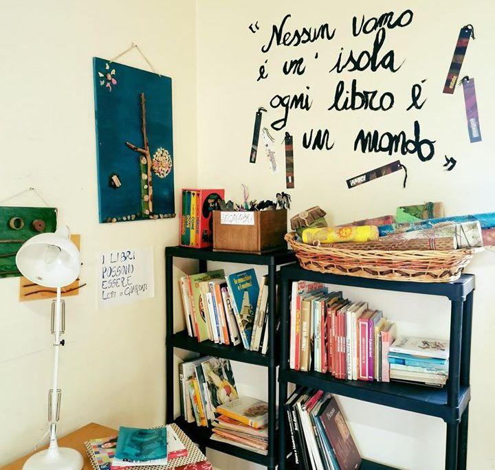 Biblioteca - Spazio lettura